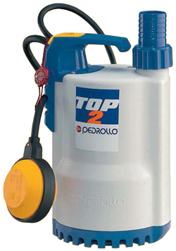 Pedrollo TOP series submersible pumps